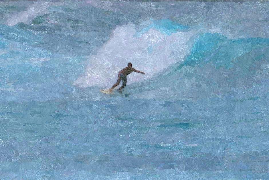 Sketched surfer gal 1-001 best