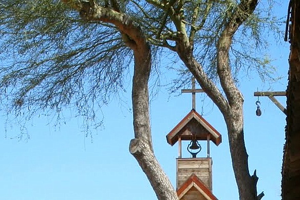 old west bell tower
