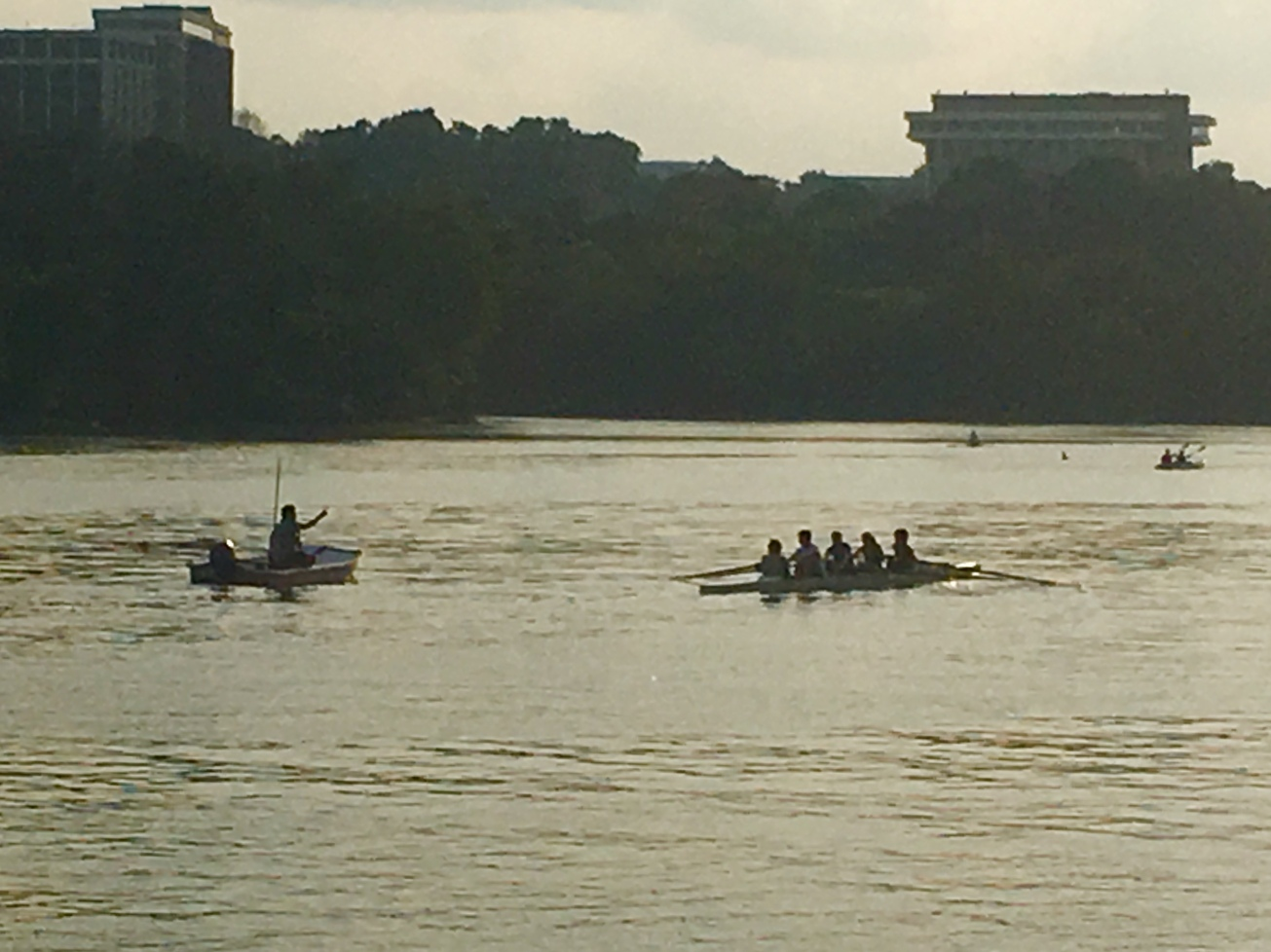 Rowers & Coach on the Potomac gall best